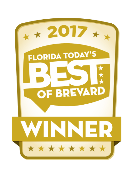 "Florida Today's ""Best of Brevard"" 2017 Winner"